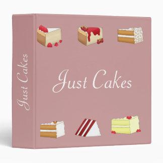 Just Cakes Recipe Binder