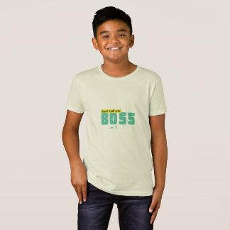 Just call me boss Kids' American Apparel T-Shirt