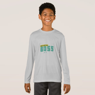 Just call me boss Kids' Long Sleeve T-Shirt