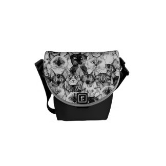 just cats courier bag