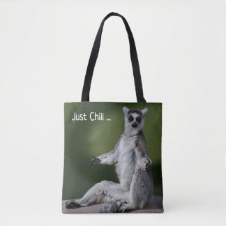 Just Chill All Over Print Bag