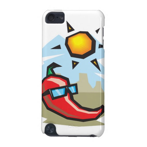 just chillin chili pepper iPod touch (5th generation) case
