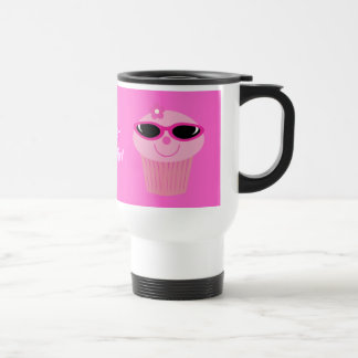 Just Chillin' Cupcakes With Sunglasses Travel Mug