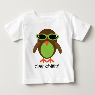 Just Chillin' Owl With Shades Baby T-Shirt