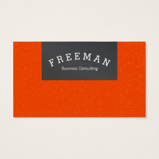 Just clear and modern business card