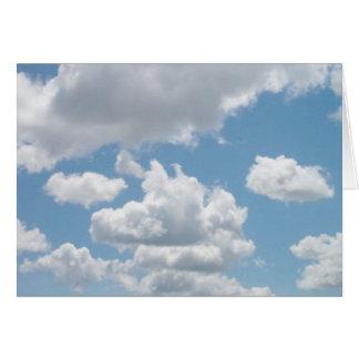 Just Clouds #20 Card