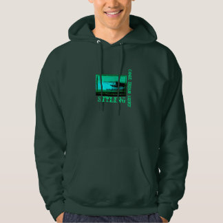 Just cool irish surf hoodie