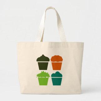 Just Cupcakes Large Tote Bag