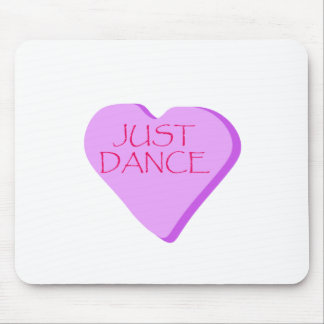 Just Dance Candy Heart Mouse Pad