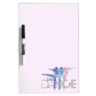 Just Dance Dry-Erase Board