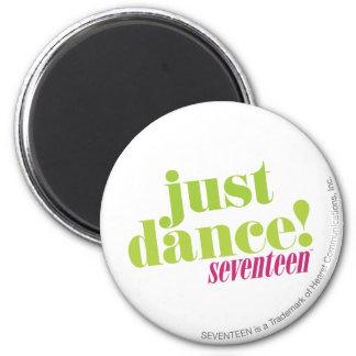 Just Dance - Green 6 Cm Round Magnet