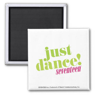 Just Dance - Green Square Magnet