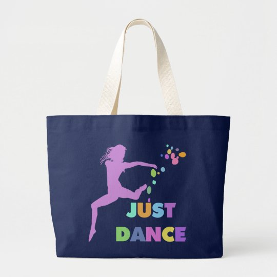 JUST DANCE LARGE TOTE BAG