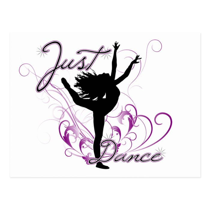 Just Dance Postcard
