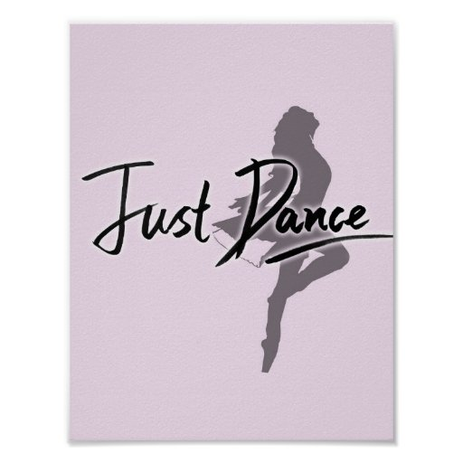 Just Dance Poster (Pink)