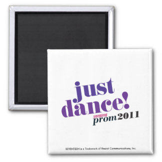 Just Dance - Purple Square Magnet