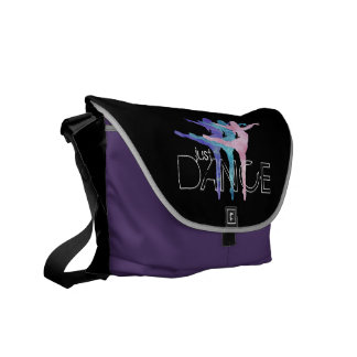 Just Dance Rickshaw Messenger Bag