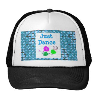 JUST Dance - Sparkle BLUE Diamond Base LOWPRICE Mesh Hat