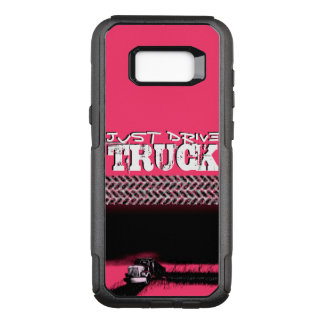 JUST DRIVE Truck: PINK Lady OtterBox Commuter Samsung Galaxy S8+ Case
