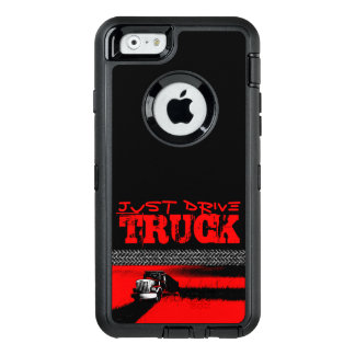 JUST DRIVE Truck: RED OtterBox iPhone 6/6s Case