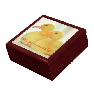 Just Ducky Large Square Gift Box