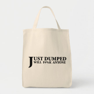 Just Dumped Grocery Tote Bag