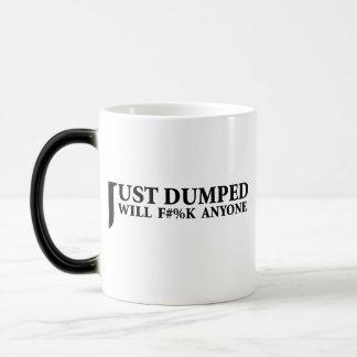 Just Dumped Morphing Mug