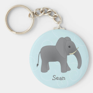 Just Elephant Key Ring
