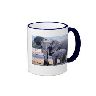 JUST ELEPHANTS RINGER MUG