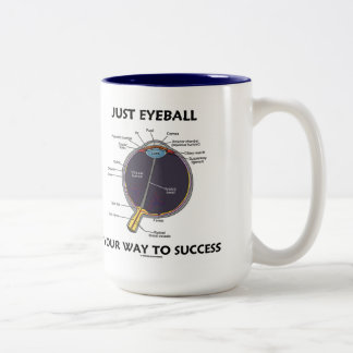 Just Eyeball Your Way To Success Eye Anatomy Mug
