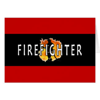 Just Firefighter Card