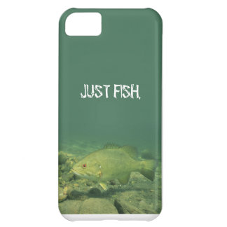 JUST FISH (SMALLMOUTH) iPhone 5C CASE
