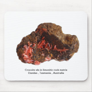 Just for Crocoite Lovers ! Mouse Pad