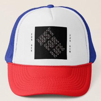 JUST FOR LIFE NOIR Trucker Hat