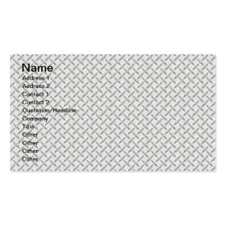 Just for Men Diamond Plate Business Card