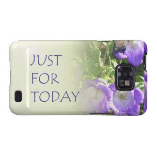 Just for Today Bell Flowers Galaxy SII Cover