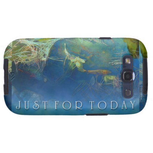 Just for Today Koi Pond Galaxy SIII Cover