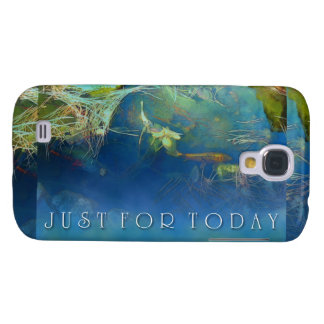 Just for Today Koi Pond Galaxy S4 Case