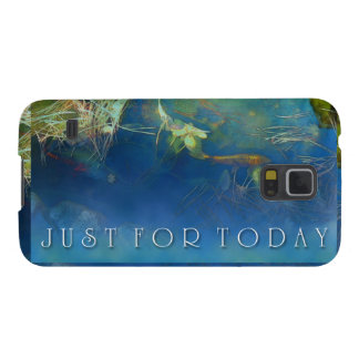 Just for Today Koi Pond Galaxy S5 Cases