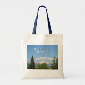 Just For Today Landscape Tote Bag