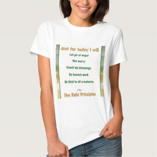 Just for Today Reiki Tshirts