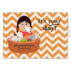 Just for You Administrative Professionals Day Card