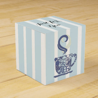 Just for You, Favor Box Favour Boxes
