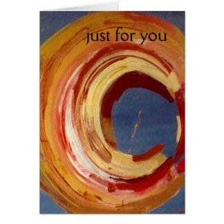 Just for You, Greeting Card, envelopes included Card