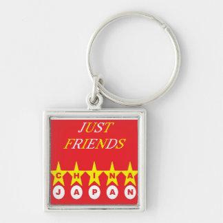 just friends keychain