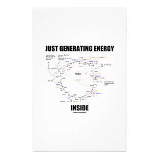 Just Generating Energy Inside Biochemistry Krebs Personalized Stationery