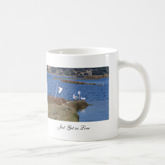 Just Get in Line Coffee Mug