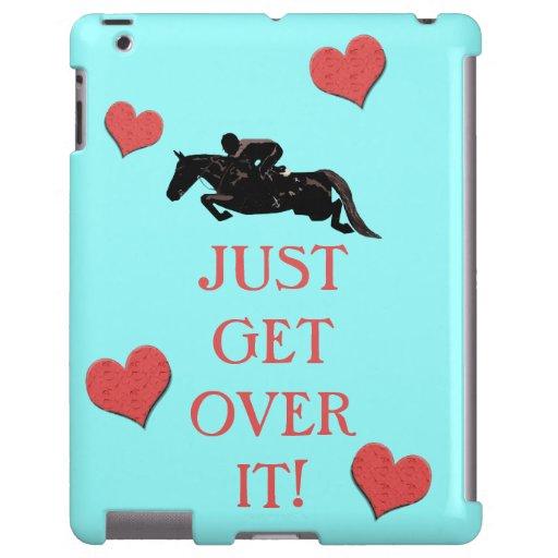 Just Get Over It Horse Jumper
