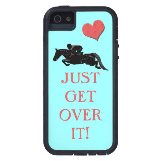 Just Get Over It Horse Jumper Case For The iPhone 5