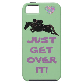 Just Get Over It Horse Jumper iPhone 5 Covers